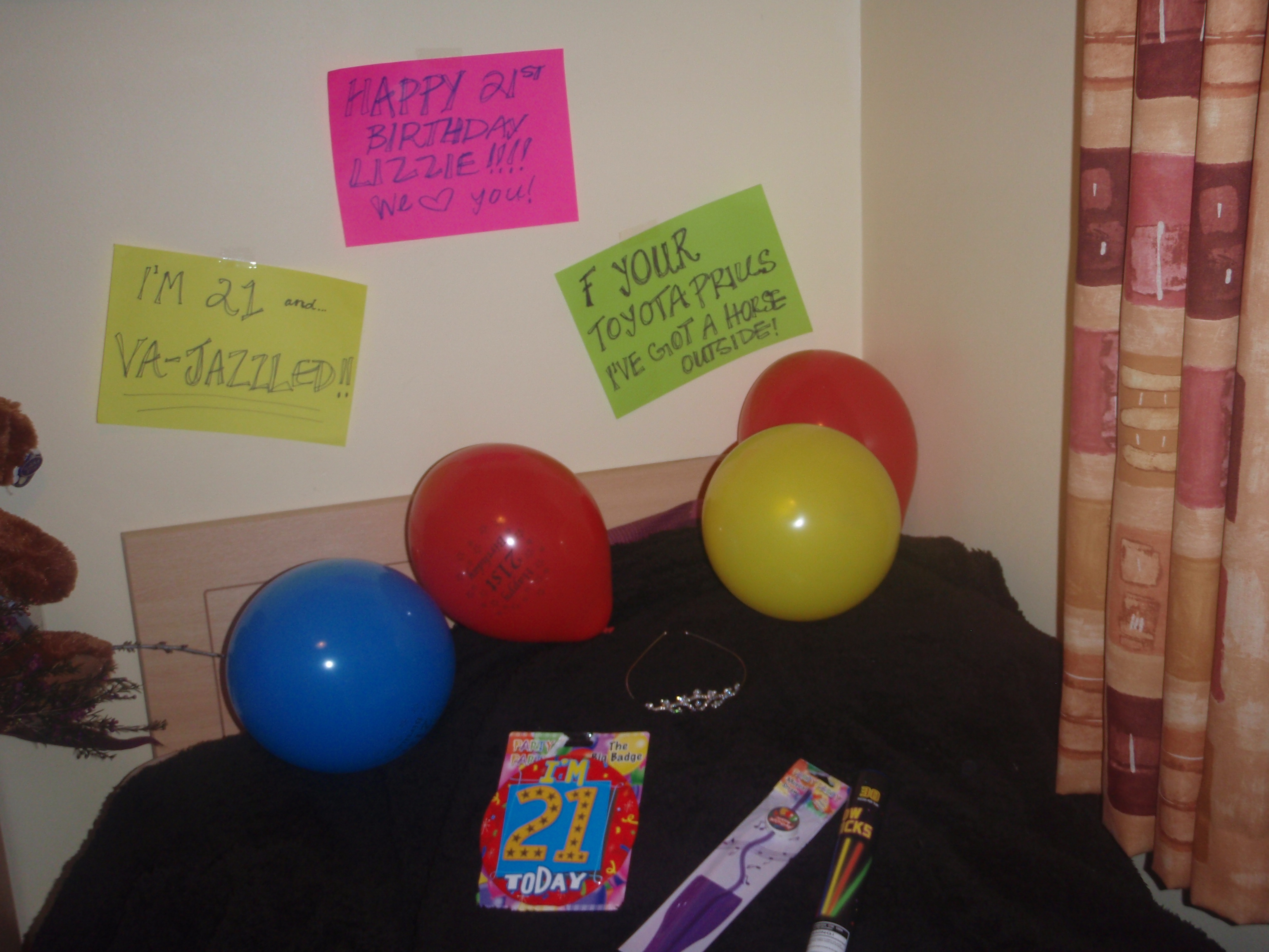 21st birthday in ireland complete success lucky enough for 21st birthday room decoration ideas